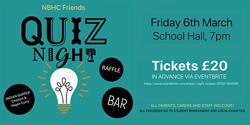 NBHC Friends Quiz Night
