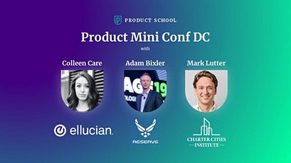 Product Mini Conf: Journey Mapping, Brave Ideas and Business tickets