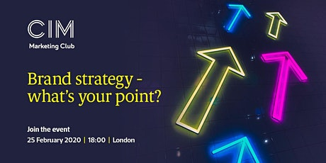 CIM: Brand strategy - what's your point? tickets