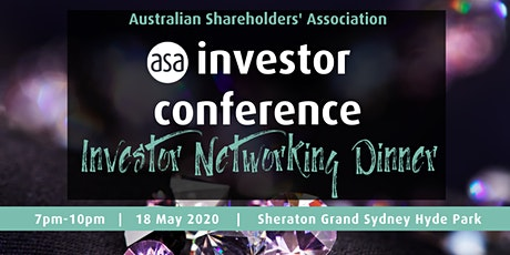 Sydney investor networking dinner tickets