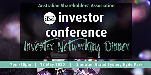 Sydney investor networking dinner