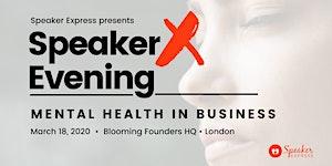 Public Speaking - SpeakerX Evening (TedTalk-inspired...