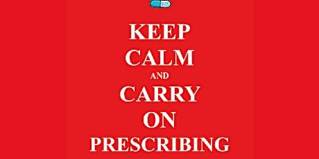 Keep Calm & Carry on Prescribing tickets