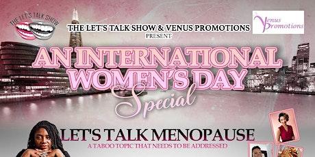 Let's Talk Menopause tickets