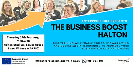 The Business Boost Halton: 1-Day Marketing & Social Media course tickets