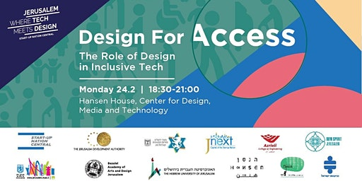 Design for Access: The Role of Design in Inclusive Tech