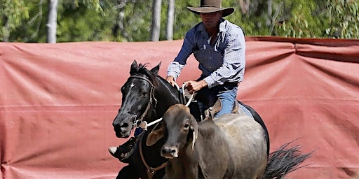 RON WALL | HORSEMANSHIP/CATTLE WORK CLINIC [Charters Towers]