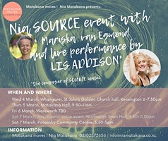 Nia Dance event with LIVE music of Lis Addison in Ponsonby
