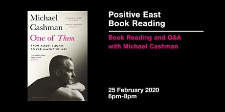 An Evening with Michael Cashman tickets
