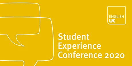 English UK Student Experience Conference 2020 tickets