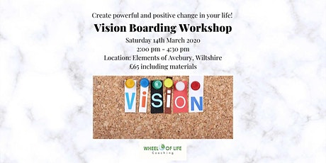 Vision Boarding Workshop - Manifest a powerful vision of your future! £69pp tickets