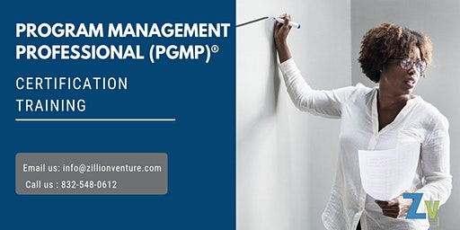 PgMP 3 days Classroom Training in North Bay, ON