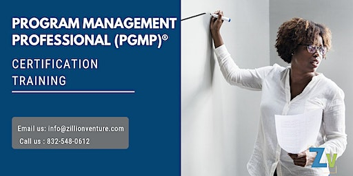 PgMP 3 days Classroom Training in Penticton, BC