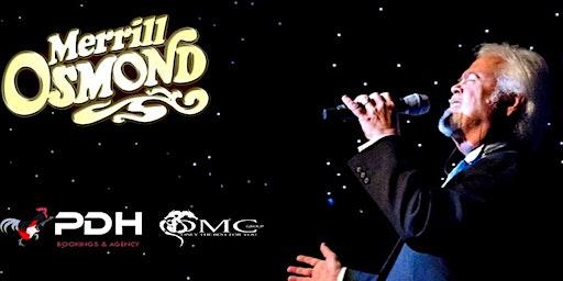 Merrill Osmond live at De Klinker - Aarschot Belgium