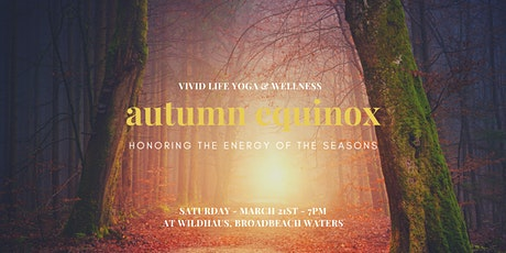 Autumn Equinox ~ Honoring the Energy of the Seasons tickets