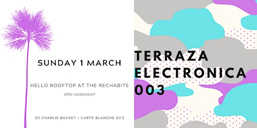 Terraza Electronica 003 X The Rechabite