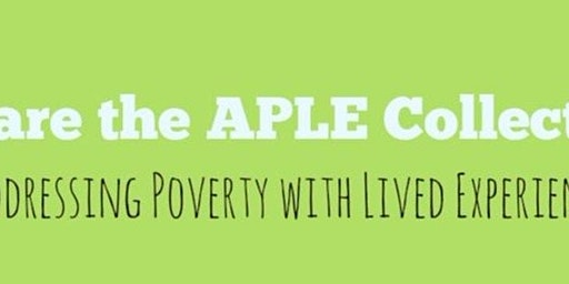 'Talking about Poverty through Lived Experience'   Workshops