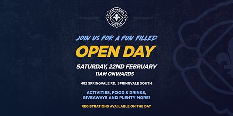 Open Day at Heatherton United Soccer Club tickets