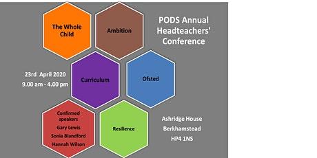 Partnership of Dacorum Schools Headteachers Conference (Professionals Only) tickets