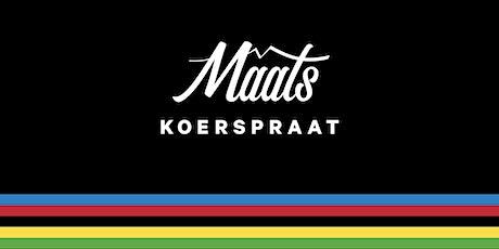 Maats Koerspraat: Maarten Tjallingii tickets