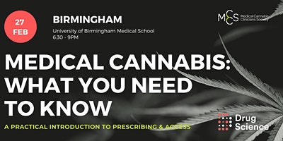 Medical cannabis - what you need to know: Birmingham