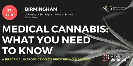 Medical cannabis - what you need to know: Birmingham tickets