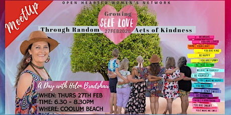 Growing Self-love through Random acts of Kindness tickets