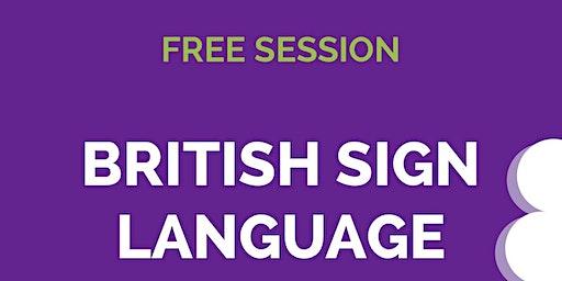 Free British Sign Language Bites!