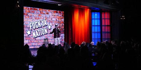 """Fock Ya Nation"" @ Brea Improv w/ The Cass Man tickets"