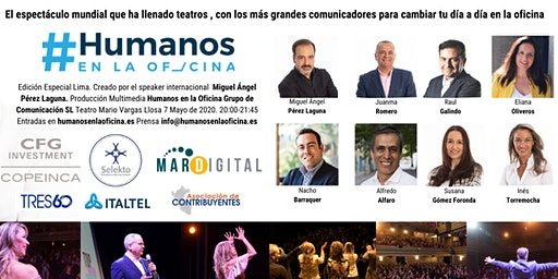 """El espectáculo mundial """"Humanos en la Oficina"""" por primera vez en Lima!"""