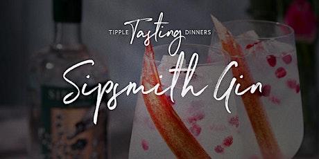 Tipple Tasting Dinner - Sipsmith Gin tickets