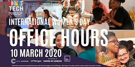 OneTech International Women's Day - Office Hours tickets