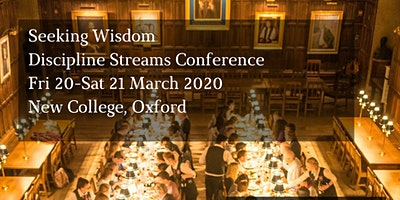 Seeking Wisdom: DCM Discipline Streams Conference 2020