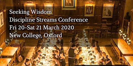 Seeking Wisdom: DCM Discipline Streams Conference 2020 tickets