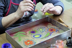Art of Ebru and Marbling