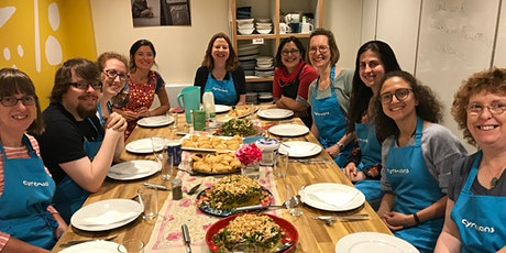 Vegan cooking workshop and lunch tickets