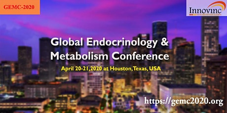 Global Endocrinology, Nutrition & Metabolism Conference tickets