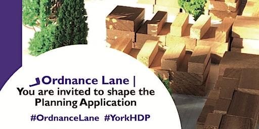 Design Workshop Ordnance Lane/Hospital Fields Road