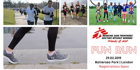 Friends of MSF Fun Run in Battersea Park tickets