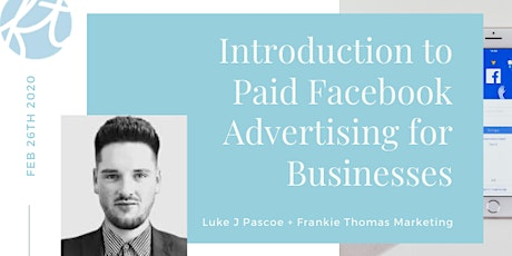 Introduction to Paid Facebook Advertising for Business tickets