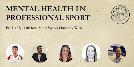 Mental Health in Professional Sports Evening tickets