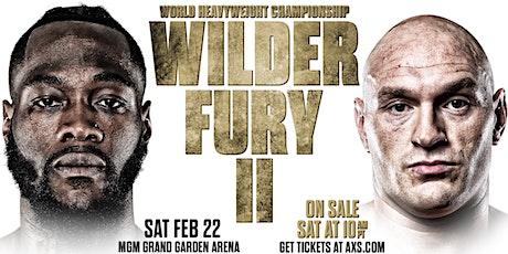 Tyson Fury vs Deontay Wilder II at Macau Sporting Club Cork tickets