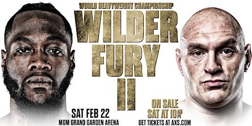 Tyson Fury vs Deontay Wilder II at Macau Sporting Club Cork