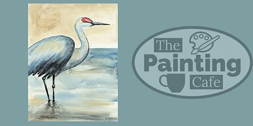 Sandhill Crane Paint Class