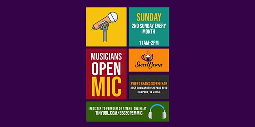 Open Mic Mid-Day at Sweet Beans