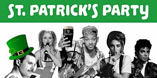 St Patrick's Party - I love the 80s vs 90s