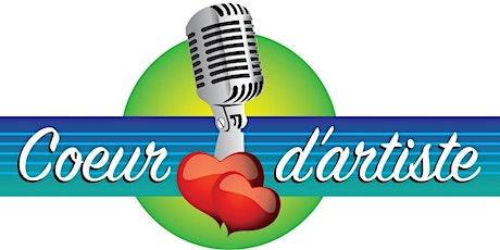 Reporté ¸¸à l'automne  Concours Coeur d'artiste Saint-Jacques 2020 billets