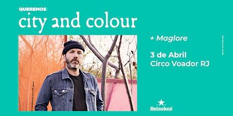 Pré-Venda Queremos! City & Colour no Rio de Janeiro ingressos
