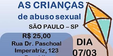 Curso: Como proteger as crianças de abuso sexual ingressos