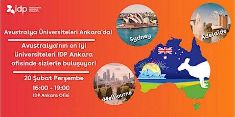Avustralya Üniversiteleri ile Ankara'da Buluşun! tickets